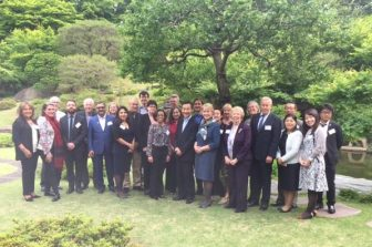 Ms. Jean-Baptiste with members of ILAC at ILAC's Annual General Meeting in Tokyo Japan in May 2017 Photo Credit: ILAC